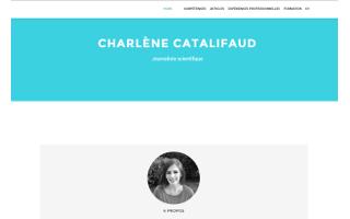 Le site-CV de Charlène