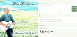 Le site 2017 d'Emmanuel Della Torre